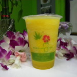 Orange Green Tea Smoothie