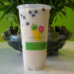 Taro Black Milk Tea Smoothie
