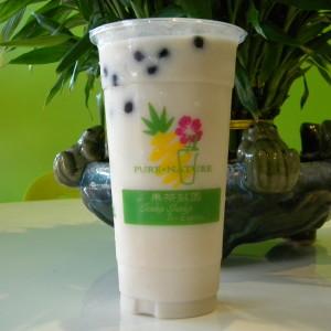 Taro Black Milk Tea Smoothie